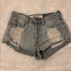 Brandy Melville Distressed Denim